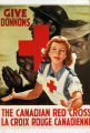 Give : the Canadian Red Cross. Donnons : la Croix-Rouge canadienne