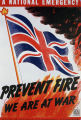 A national emergency. Prevent fire - we are at war