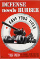 Defense needs rubber : save your tires