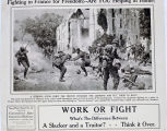 Fighting in France for freedom! Are you helping at home? Work of fight