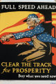 Full speed ahead! Clear the track for prosperity : buy what you need now