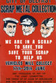 City of Belfast Scrap Metal Collection - We are in a scrap to save you, save your scrap to help us