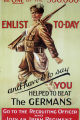Be one of the 300,000 : Enlist today and have it to say you helped to beat the Germans