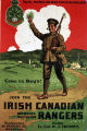Come on boys! Join the Irish Canadian Rangers Overseas Battalion