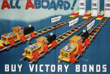 All aboard! Buy victory bonds