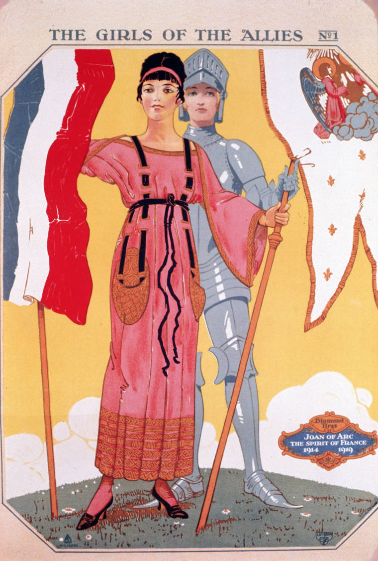 The Girls Of The Allies No1 Joan Of Arc The Spirit Of France